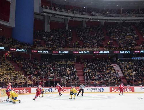 Beijer Hockey Games blev en publiksuccé – Högsta publiksiffran på Tre Kronors matcher sedan 2005