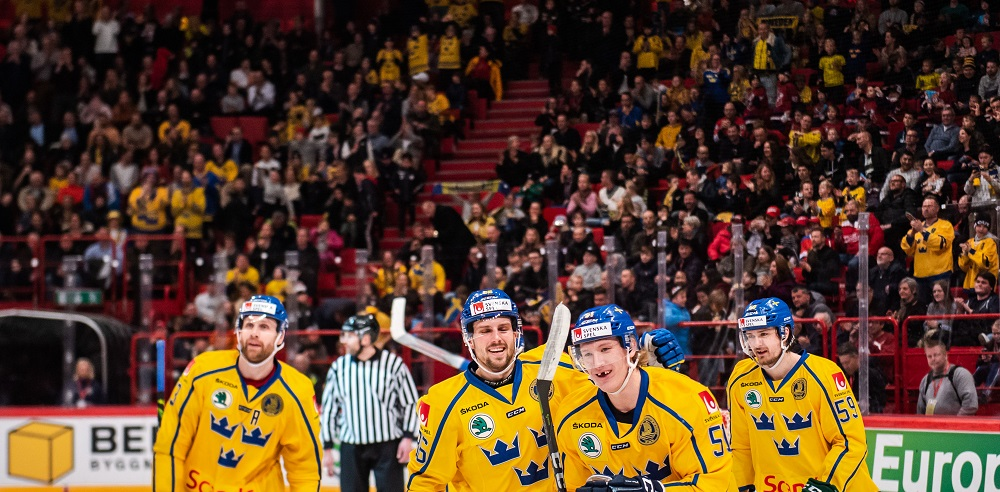 Tre Kronor under Beijer Hockey Games 2020