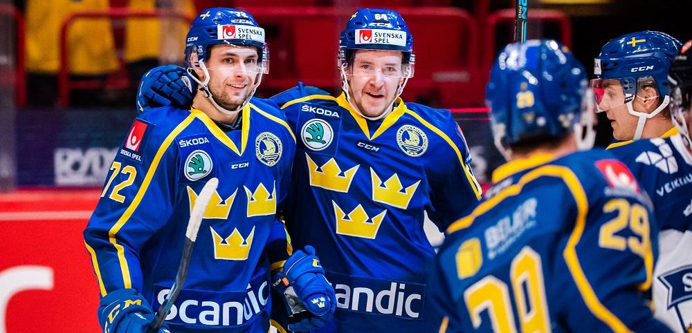 Tre Kronor under Beijer Hockey Games 2020