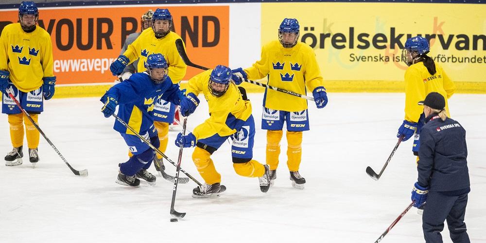Svenska damlandslaget tränar 2020