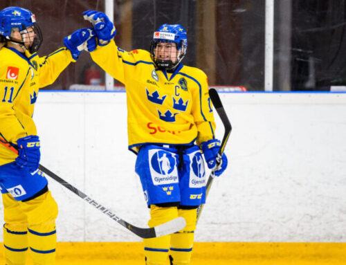 Damkronorna besegrade Norge i sin träningsmatch