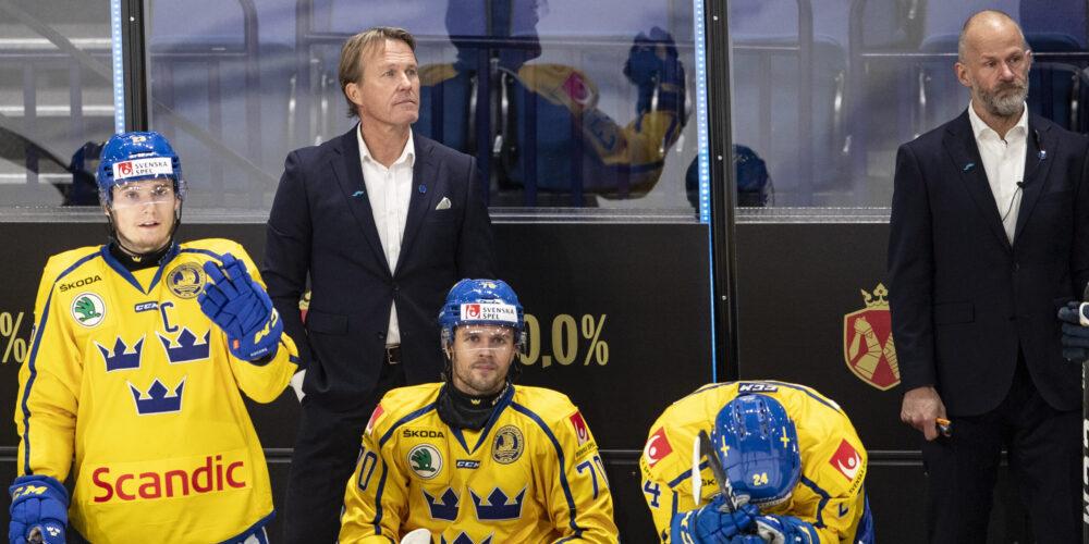 Johan Garpenlöv i båset