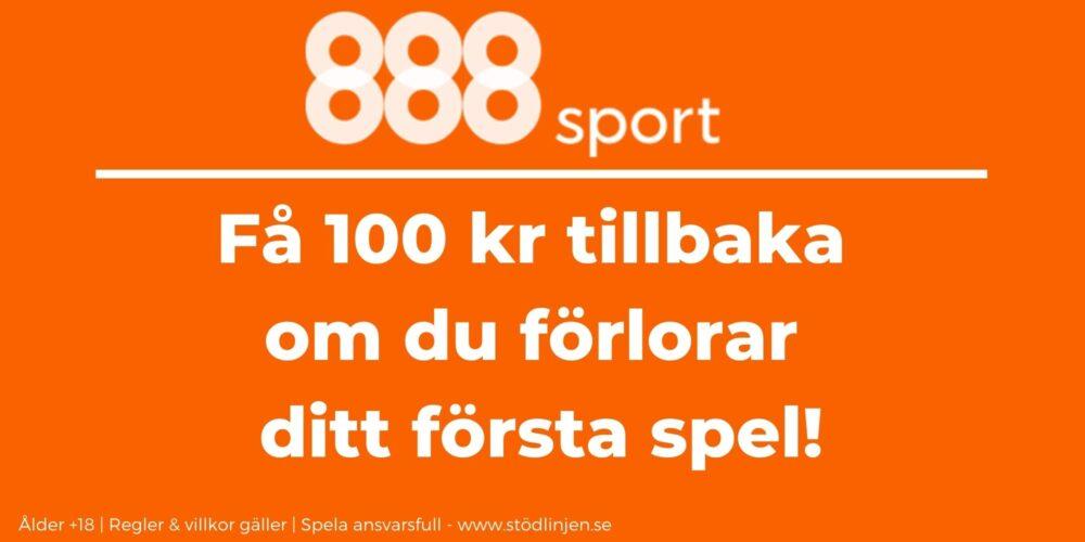 888 Sport välkomstbonus