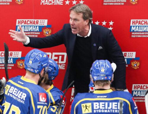 Truppen till Sveriges VM-genrep i Carlson Hockey Games