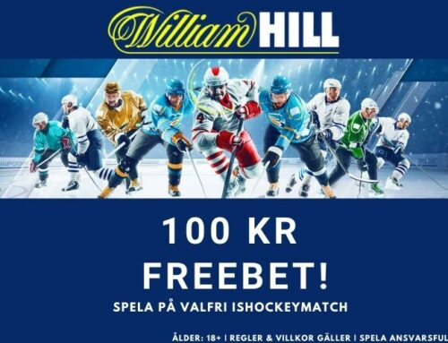 Välkomstbonus William Hill – 100 kr freebet