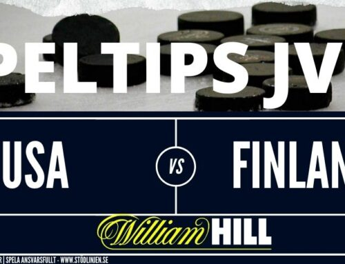 Speltips 05/01 | JVM | USA – Finland