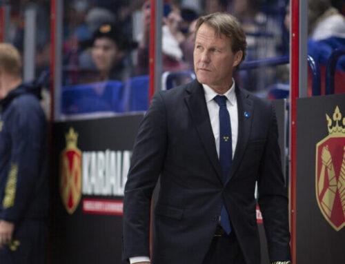 Tre Kronors uppställning i matchen mot Tjeckien
