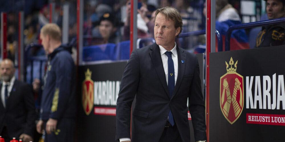 Johan Garpenlöv, förbundskapten i Tre Kronor