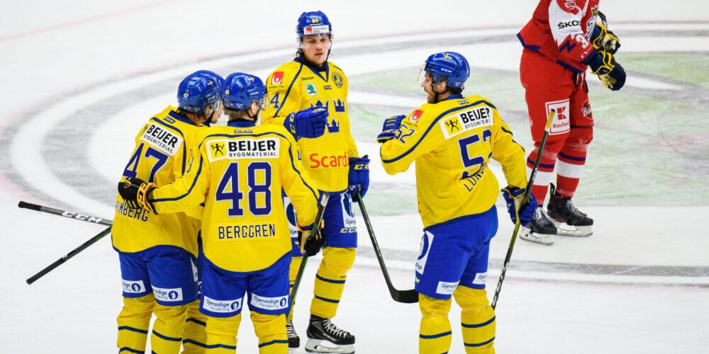 Tre Kronor i Beijer Hockey Games 2021