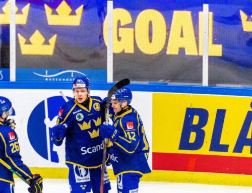 Sverige vinner den avslutande matchen i Beijer Hockey Games