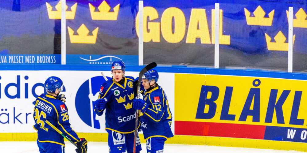 Tre Kronor under Beijer Hockey Games 2021