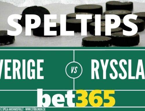 Speltips 13/12 | Beijer Hockey Games Sverige – Ryssland