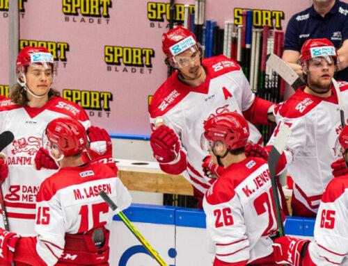 Tre Kronor föll mot Danmark med 3-2