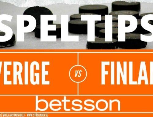 Speltips 15/5 | Carlson Hockey Games | Sverige – Finland