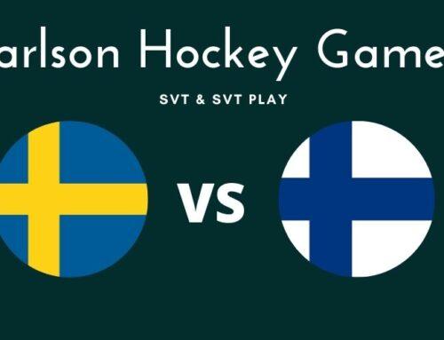 Var sänds Sverige mot Finland i Carlson Hockey Games