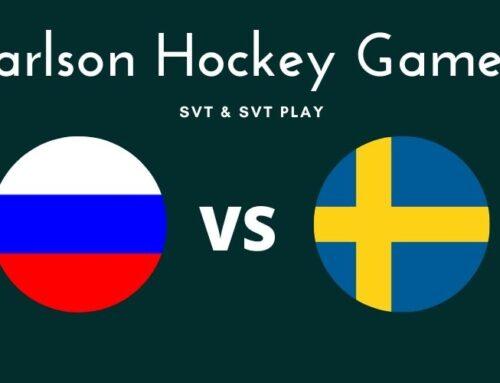 Var sänds Ryssland mot Sverige i Carlson Hockey Games