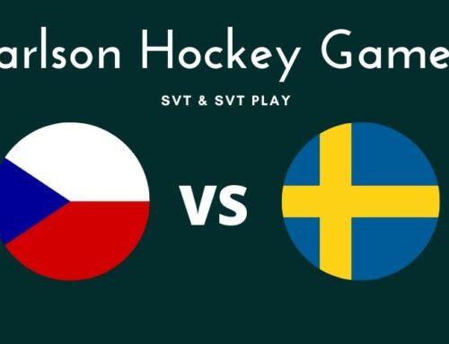 Var sänds Tjeckien mot Sverige i Carlson Hockey Games