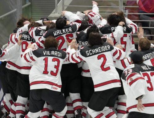 Kanada vinner en jämn och spännande final i hockey-VM; säkrar nationens 27:e VM-guld.