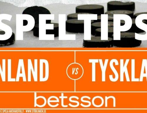 Speltips 5/6 | Hockey-VM | Finland-Tyskland