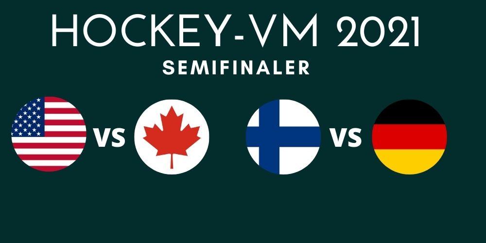 Semifinaler VM 2021